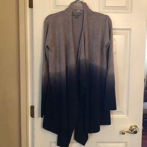Barefoot Dreams waterfall ombré cardigan NEW